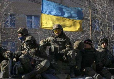 Каратели на Донбассе лишились техники (ВИДЕО)