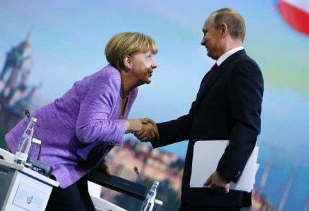 «Пора бы извиниться»: немцы о переговорах Путина, Меркель и Макрона