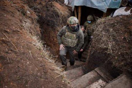 Зеленский озвучил потери ВСУ за 2021 год