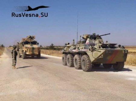 Армия России: операция у границы с Турцией (ВИДЕО)