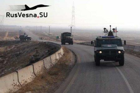 Колонны Армии России едут в разные концы Сирии (ФОТО)