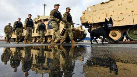 Американские военные пострадали на учениях в Эстонии