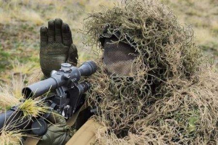 На Донбассе снайпер уничтожил украинского оккупанта