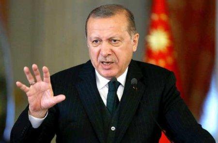 Эрдоган заявил овступлении визраильско-палестинский конфликт
