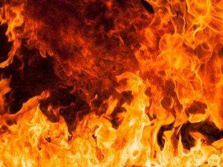 ВСочи вспыхнул масштабный пожар (ВИДЕО)