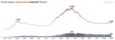 Минимальное число умерших за 2 недели: коронавирус в России