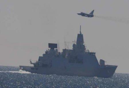 Минобороны Британии неожиданно отреагировало на инцидент со своим эсминцем