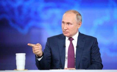 «Рискуете быть съеденными»: Путин напомнил чиновникам про Колобка (ВИДЕО)