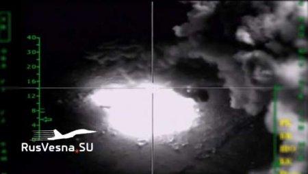 СРОЧНО: Море огня! ВКС России подняты по тревоге и уничтожают силы врага в САР (ВИДЕО)