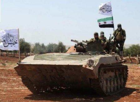Страна НАТО и террористы вместе наносят удары в Сирии (ФОТО)
