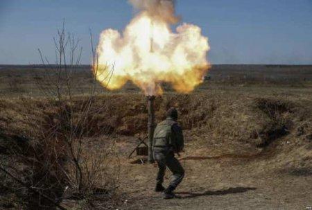 Бой на Донбассе: уничтожен миномётный расчёт боевиков ВСУ, обе стороны понесли потери