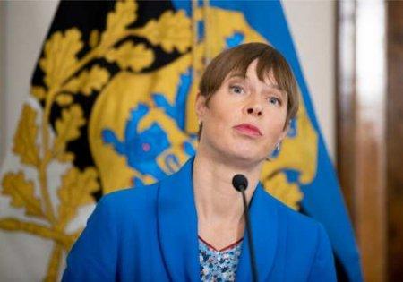 «А как же Керсти Кальюлайд?»: в Эстонии избран новый президент (ФОТО)