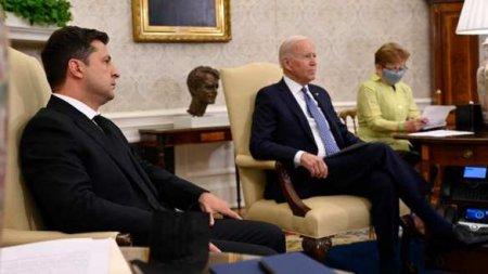 В Кремле оценили итоги переговоров Байдена и Зеленского