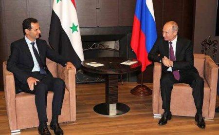 Необъявленный визит: Путин принял Асада вМоскве (ВИДЕО)