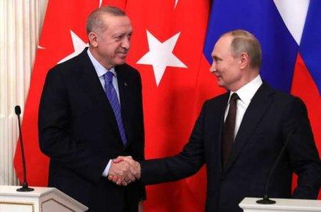 ВКремле сообщили подробности о переговорах Путина иЭрдогана