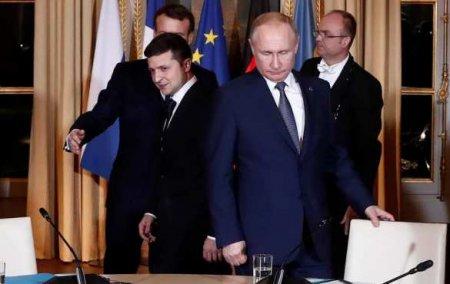 Кремль: Москва и Киев обсуждают организацию встречи Путина и Зеленского