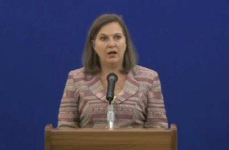 Нуланд рассказала, чем занималась в Москве накануне переговоров
